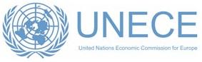 UNECE logo Autograaf